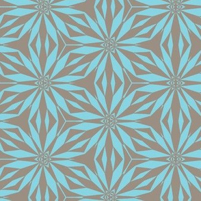 flor aquamarine Grey