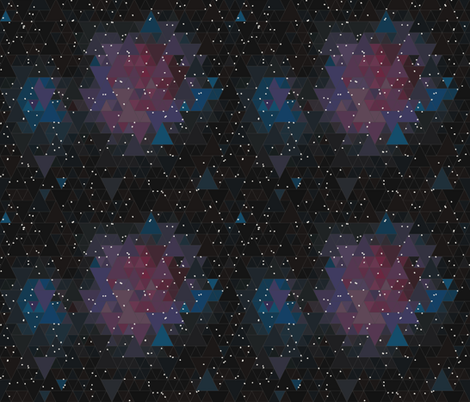 Nebula fabric by thecharmingneedle on Spoonflower - custom fabric