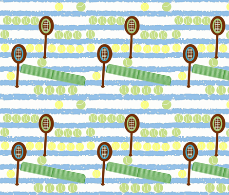 Across the Net  fabric by krussimages on Spoonflower - custom fabric