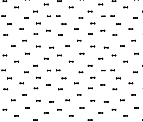 black bows fabric by kristenbarstad on Spoonflower - custom fabric