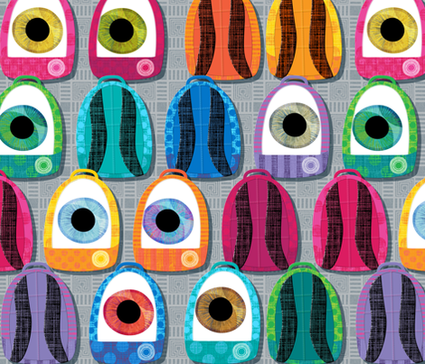 eye pak bak pak fabric by spellstone on Spoonflower - custom fabric