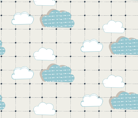 Cloudy_Day_v fabric by jenflorentine on Spoonflower - custom fabric
