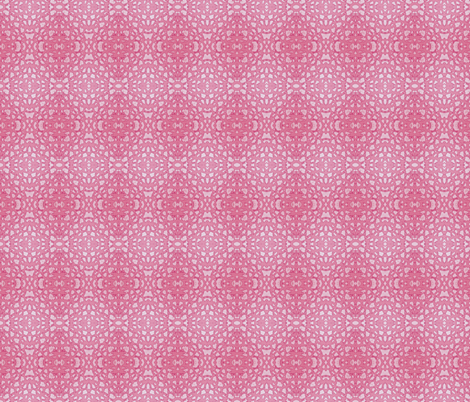 Diamond Crochet Lace Rose fabric by silverspoon on Spoonflower - custom fabric