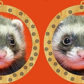 Ferret ornamental