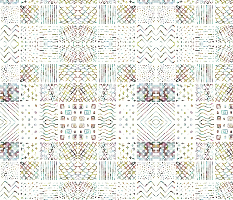 wtiles II fabric by ilustraio on Spoonflower - custom fabric