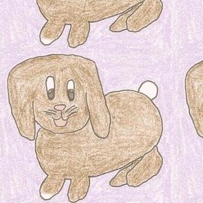 Lilac Lop Bunny