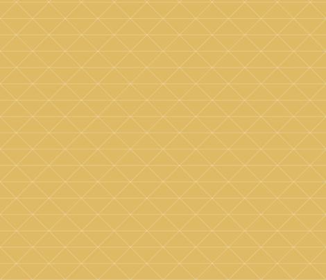 Geometric Single Triangles Mustard fabric by rachjane on Spoonflower - custom fabric