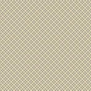 Cyngalese Criss-Cross Tan