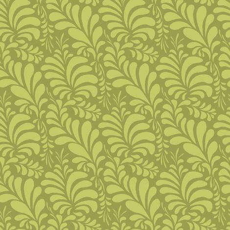Cyngalese Splash green fabric by wrapartist on Spoonflower - custom fabric