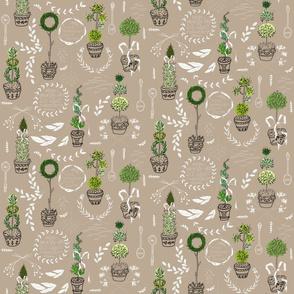 Herbal Topiary