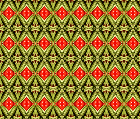 Gumbo Diamonds fabric by gothamwood on Spoonflower - custom fabric