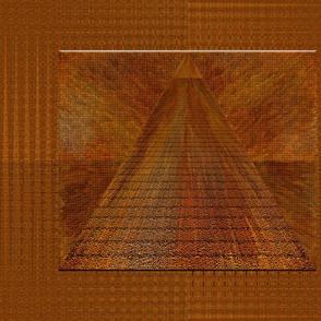 Pyramid at Sunrise