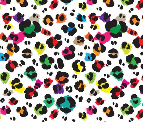 Leopard Print #8 fabric by ornaart on Spoonflower - custom fabric
