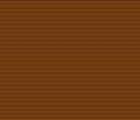 Black and orange fox stripe fabric by modernfox on Spoonflower - custom fabric