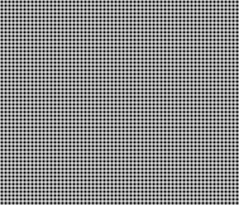 Black and white fox gingham fabric by modernfox on Spoonflower - custom fabric