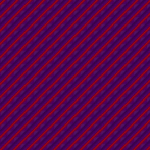 Purple and red stripe