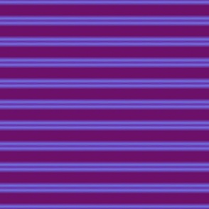 Purple and blue stripe