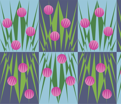 chives fabric by gray___ on Spoonflower - custom fabric
