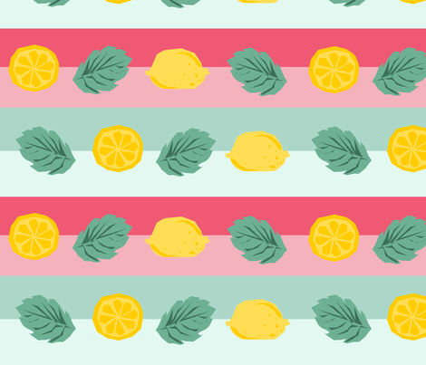 mintylemonade fabric by sharoncs on Spoonflower - custom fabric