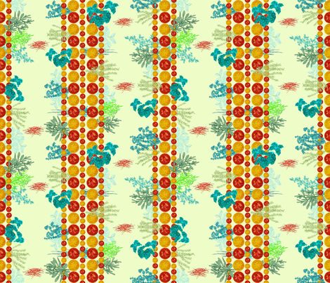 little garden fabric by j2angel on Spoonflower - custom fabric