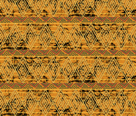 African_Diamonds fabric by house_of_heasman on Spoonflower - custom fabric