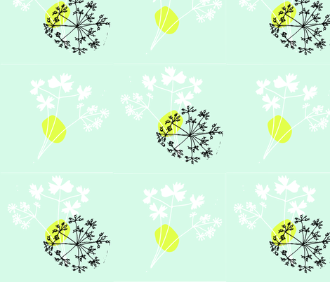 coriander-ed fabric by pip_pottage on Spoonflower - custom fabric