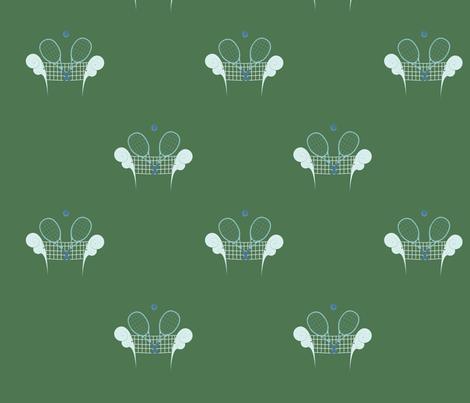 Tennis fabric by svaeth on Spoonflower - custom fabric