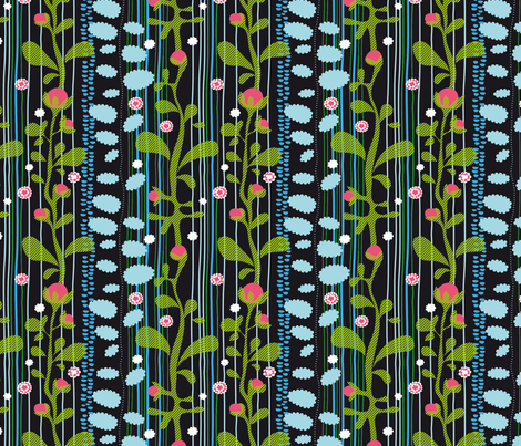 aromatic stripes fabric by lisahilda on Spoonflower - custom fabric