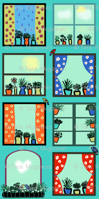 Window Herb Gardens