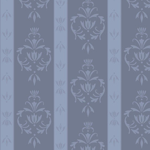 Foggy Banded Damask