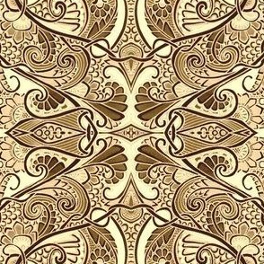 Twisted Ivory Paisley