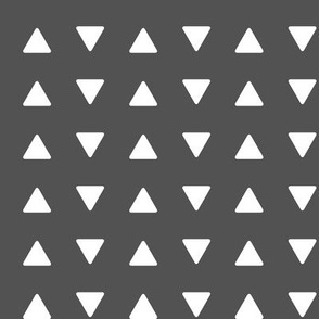 triangles // charcoal - Woodland Collection