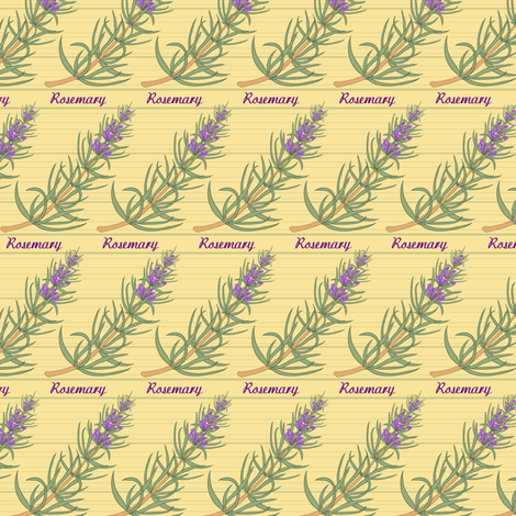 Rosemary fabric by jjtrends on Spoonflower - custom fabric