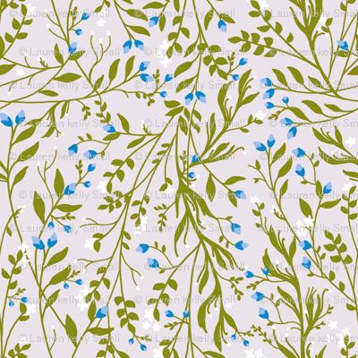 Tangled Sage Vine Frost Blossom