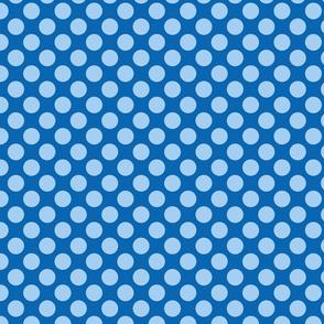 Spanish Dots - Blue