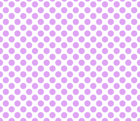 Spanish Dots - Orchid and White fabric by joyfulrose on Spoonflower - custom fabric