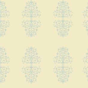 Fleur de Lis beige