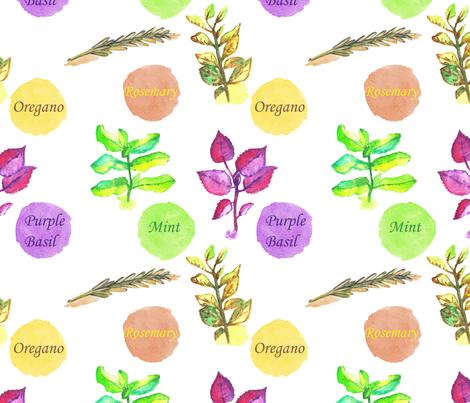 Freshness pattern fabric by anat_om on Spoonflower - custom fabric