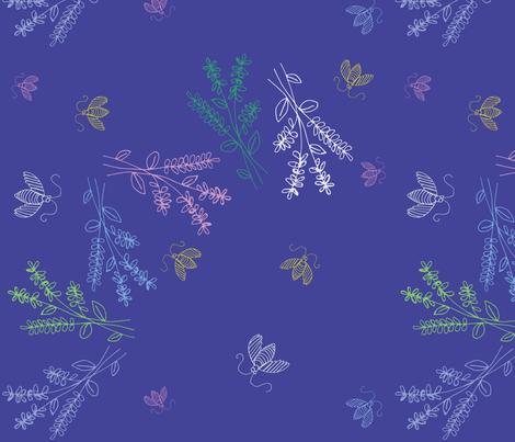 Summer Breeze fabric by pamela_hamilton on Spoonflower - custom fabric