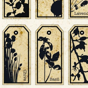 Herbs Apothecary Labels