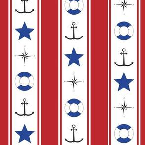 navy_red stripe