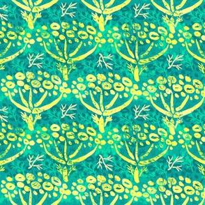 Dill batik (peacock)