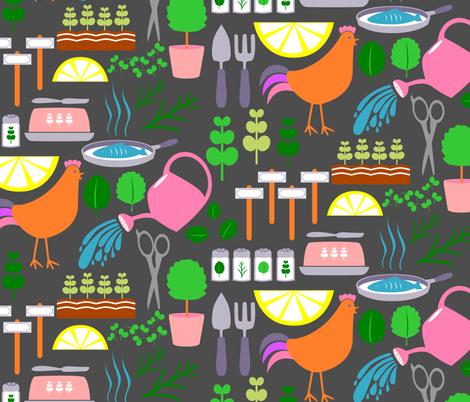 Green Goodness fabric by mrshervi on Spoonflower - custom fabric