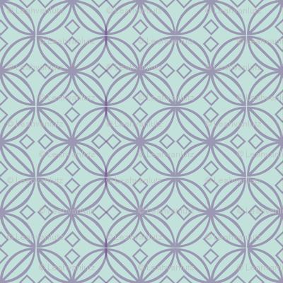 Bohemian Knotwork Blue