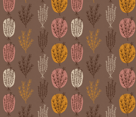 rosemary and thyme fabric by mumbojumbo on Spoonflower - custom fabric