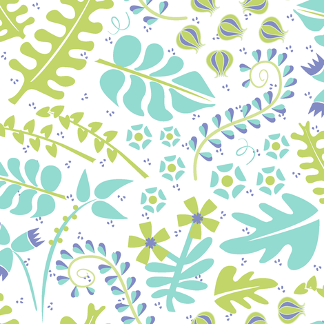Fresh fabric by lynnbishopdesign on Spoonflower - custom fabric
