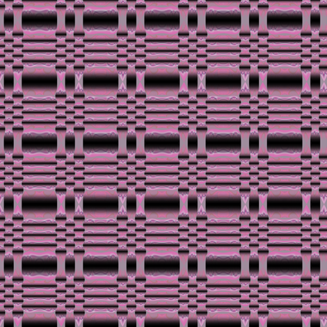 Pink Sculpted Geometric fabric by gingezel on Spoonflower - custom fabric