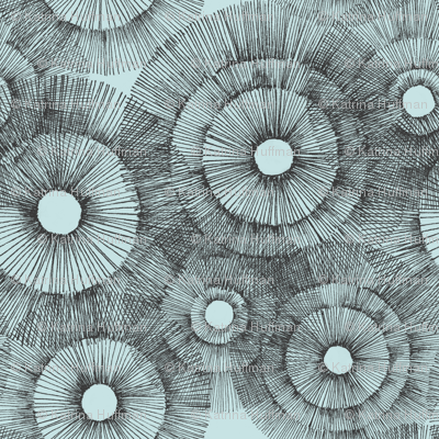 Urchin in Pale Blue