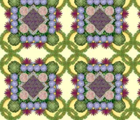 Herb_Garden_Whimsy fabric by robynnw1 on Spoonflower - custom fabric