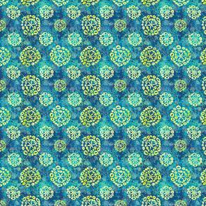 Herbal batik #2 blue